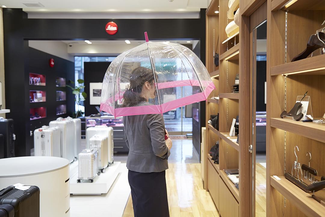 FULTON Umbrellas(フルトンアンブレラ) / Birdcage-1 Rose Pink(バードケージ1ローズピンク)