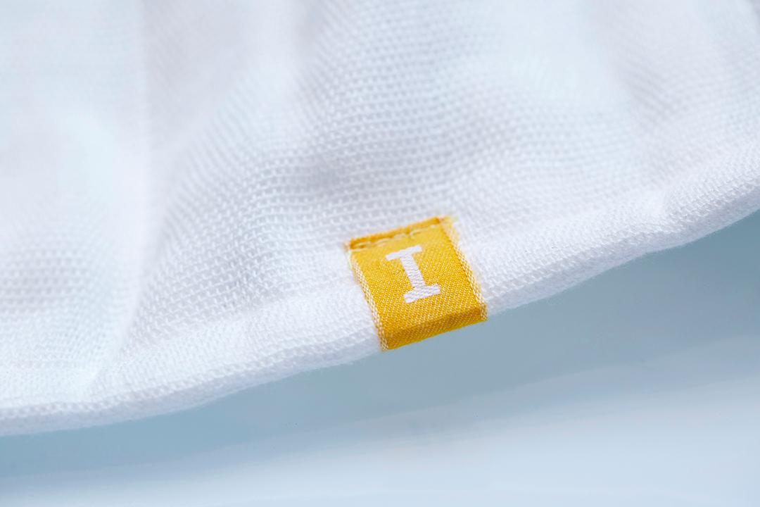 オーガニックコットン100%の枕カバー